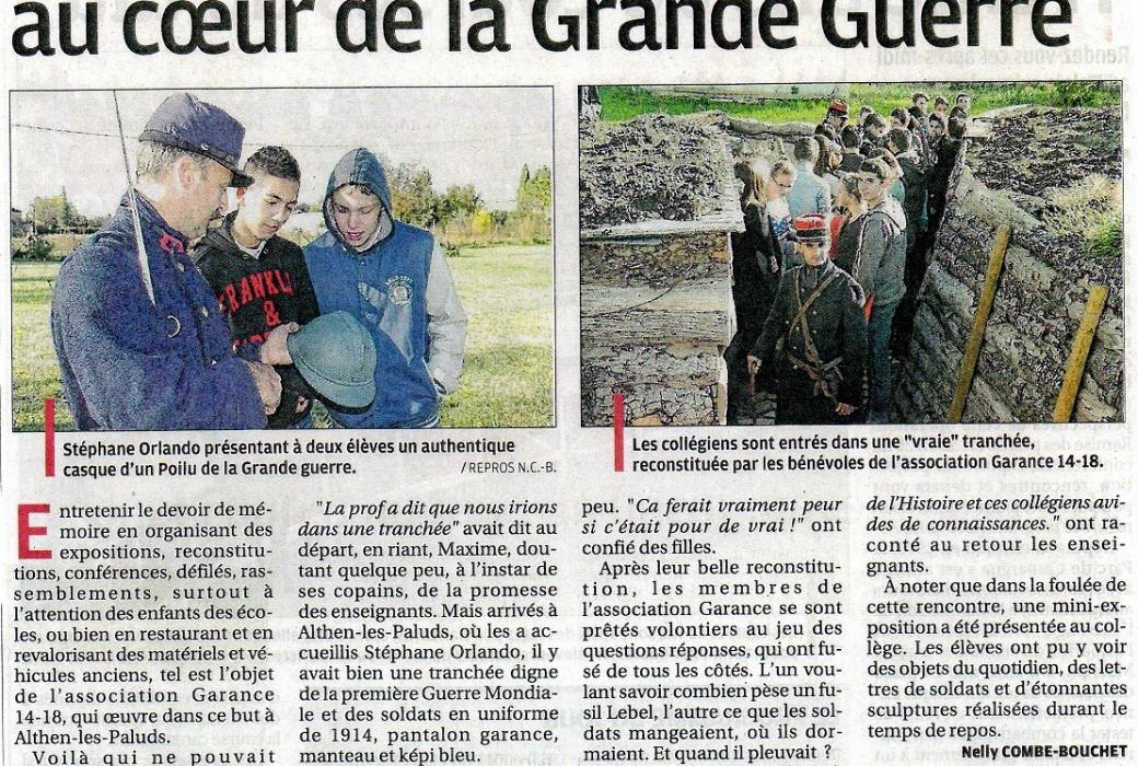 article tranché école 2014