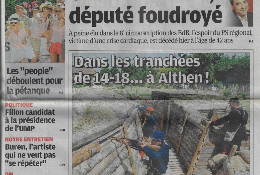 la provence 1 juillet 2012
