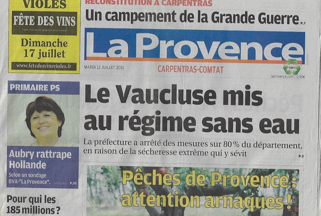 la provence 12 juillet 2011-2