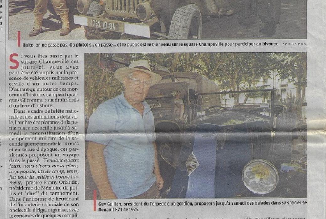 la provence 13 juillet 2012