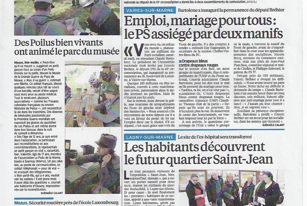 le parisien 22 avril 2013