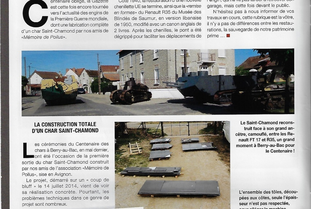 véhicules militaires magazine N°76 aout sept.2017