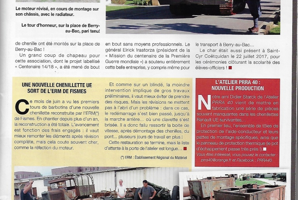 véhicules militaires magazine N°76 aout sept.2017-2