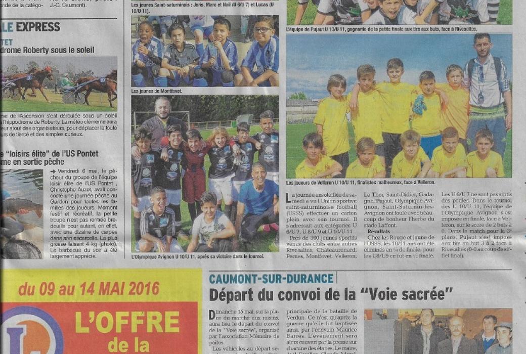 vaucluse matin 9 mai 2016