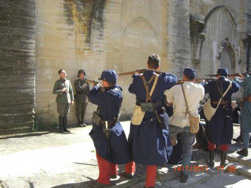 Bivouac Carpentras Mémoire de poilus