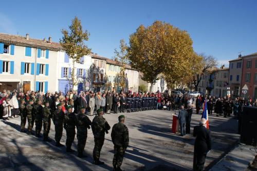 Cérémonie commémorative  11 novembre mémoire de poilus